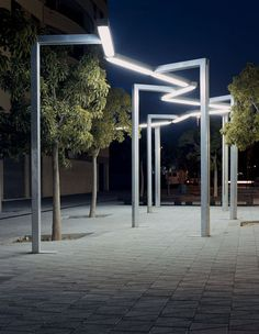 VÍA LÁCTEA public lighting by Enric Batlle & Joan Roig / Santa & Cole. Visit the slowottawa.ca boards >> http://www.pinterest.com/slowottawa/