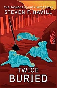 Twice Buried by Steven F. Havill ~ I have enjoyed this series, so far.