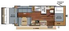 Learn more about the Jayco Jay Feather for sale at Camping World—the nation's largest RV & camper dealer. Camping World Stock# 1673916 Camping World, Go Camping, Jayco Travel Trailers, Camper Flooring, Huber Heights, Rv Floor Plans, Lightweight Travel Trailers, Jay Feather, Trailers For Sale