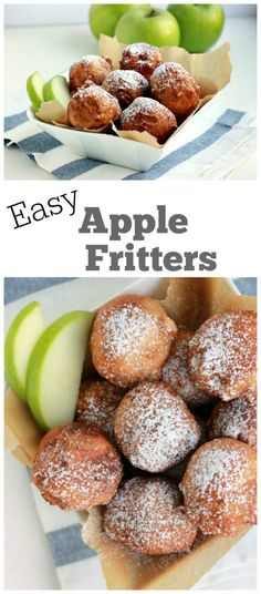 Easy Apple Fritters Recipe - RecipeGirl.com