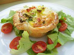 creaymme: Kleine groenten quiches met bladerdeeg