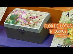 ATELIÊ NA TV    PINTURA COM STENCIL   CRISÂNTEMOS E BEIJA-FLOR   MAYUMI TAKUSHI   13.03.17 - YouTube