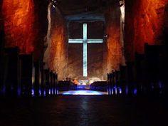 """Catedral de Sal de Zipaquirá"". Cundinamarca, Colombia."