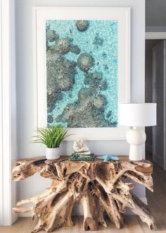 Private villa design: 10 Prints That Will Keep Summer Thriving in Your Home All . Private villa design: 10 Prints That Will Keep Summer Thriving in Your Home All Year Long - GRAY MALIN Coastal Living Rooms, Coastal Cottage, Living Room Grey, Coastal Homes, Coastal Decor, Living Room Decor, Modern Coastal, Beachy Room Decor, Modern Beach Decor