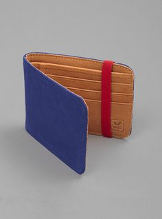 Couverture and The Garbstore - Mens - Veja - Medium Elastico Suede Wallet