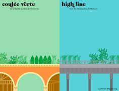 Promenade Plantee' vs. the Highline
