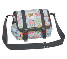 LeSportsac 9777 Two Pocket Messenger by Kate Sutton