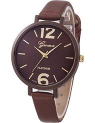 Willtoo Women Faux Leather Analog Quartz Wrist Watch Brown by WILLTOO $3.05+ $1.00 shipping For every 3 items purchased, 2% off 3 See Details Show only WILLTOO items