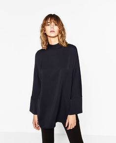 Image 3 of HIGH NECK TUNIC from Zara