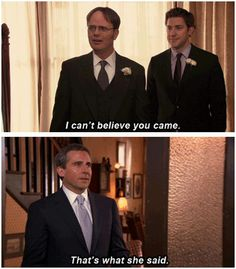 :) made me cry. Love Michael Scott