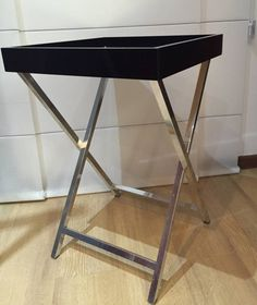 mesa chic em laca preta - mesas sem marca