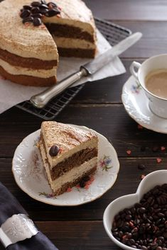 Juditka konyhája: ~ KÁVÉS TORTA ~ Hungarian Recipes, Hungarian Food, Eat Pray Love, Valentines Day Desserts, Something Sweet, Cake Cookies, Tiramisu, Tart, French Toast