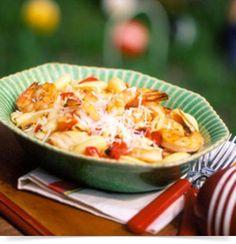 Garlic and Shrimp Pasta Toss