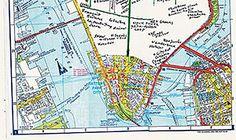 A Map of 1960s #NewYork from Memory by #JonasMekas