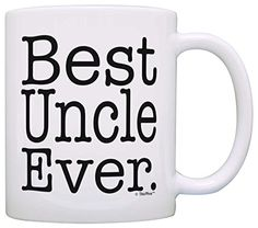 Fathers Day Gift Best Uncle Ever Birthday Gift Gift Coffee Mug Tea Cup White *** Check out the image by visiting the link.