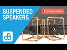 This was a really fun project. I enjoyed mixing up some materials and processes. A build talk and sound test will come soon. Even though they will not defy t. Hifi Audio, Stereo Speakers, Fun Projects, How To Become, Copper, Product Design, Frame, Youtube, Collection