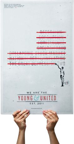 Young & United by Sean A. Metcalf, via Behance