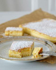 Puddingkuchen mit Vanille