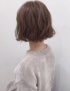 Hair To Beauty Clearance Short Permed Hair, How To Curl Short Hair, Short Hair Cuts, Tomboy Hairstyles, Permed Hairstyles, Bob Perm, Short Hair Back View, Midi Hair, Medium Hair Styles