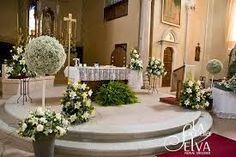 Risultati immagini per addobbi chiesa matrimonio