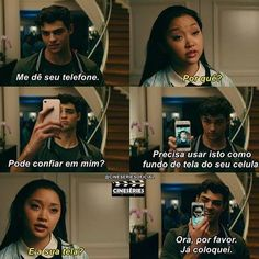 Vai a dic Lara Jean, Series Movies, Movies And Tv Shows, Love Is Scary, Jean Peters, Jenny Han, Shawn Mendes Memes, Kids On The Block, Movie Couples