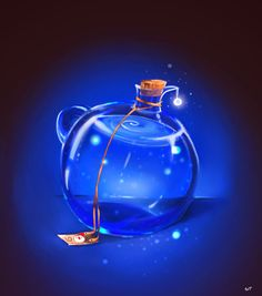 Final fantasy Potion by Sakurabe