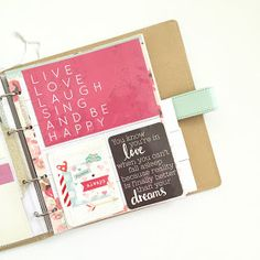 Letters in November: KAISERCRAFT JOURNAL PLANNERS: PART I