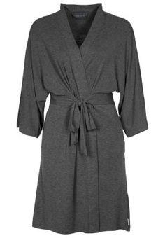 SEVEN EASY PIECES - Badekåpe - charcoal heather. I medium. Finnes MYE billigere på Nordstrom.com, nesten halv pris, faktisk, men da kommer jo moms i tillegg og det er litt mer styr. Peignoir, Grey Fashion, Easy, Charcoal, Woman, Medium, Style, Dress, Man Women