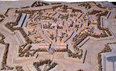 Plan-relief de #Marsal, réalisé en 1834-1839 (en réserve). Notice du plan-relief : http://www.museedesplansreliefs.culture.fr/collections/maquettes/recherche/marsal Photo © Musée des Plans-reliefs / C. Carlet