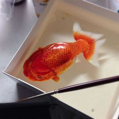 Keng Lye, Alive Without Breath series, art, resin, painting Art Resin, Resin Sculpture, Acrylic Resin, Keng Lye, 3d Portrait, 3d Painting, Resin Paintings, Fish Paintings, Realistic Paintings