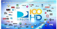 Más canales en HD con DIRECTV.