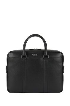 BOSS - Signature Collection document case in Italian calf leather Black Leather Bags, Calf Leather, Black Bags, Hugo Boss, Work Bags, Signature Collection, Green Bag, Leather Fashion, Bag Accessories