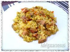 Recetas Light - Adelgazaconsusi: Arroz con pavo al curry. Delicioso plato único