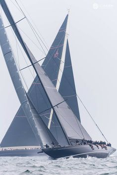 """""""Launched by us in 2010 & designed by Andre Hoek to be the fastest J Class ever built, Lionheart's length & grace always turns heads"""" J Class Yacht, Sailing Ships, Sailing Boat, Sail Away, Tall Ships, Sailboat, Cruise, Boating, Bicycles"""