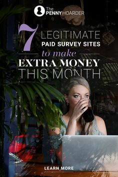 7 Legitimate Paid Survey Sites to Make Extra Money Each Month Online Surveys For Money, Paid Surveys, Online Jobs, Make Money Online, Online Work From Home, Work From Home Moms, Make Money From Home, Way To Make Money, Survey Sites That Pay