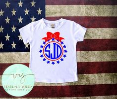 4th of July Shirts Fourth of July Shirts Kids by VYCustomBoutique
