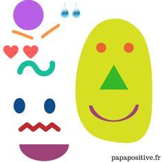 Je vous invite aujourd'hui à organiser un atelier bricolage autour des émotions. Il s'agit d'imprimer (ou de dessiner) un bonhomme-émotion, sorte de tête-patate sur laquelle votre enfant pourra s'entraîner à créer, reconnaitre et exprimer les émotions. L'avantage principal de cette technique est la distanciation : la capacité à se placer à distance de l'émotion ressentie …