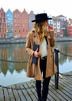 Gabrielle in the Madrid Wool Hat