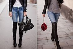 Over-the-knee Boots Trend