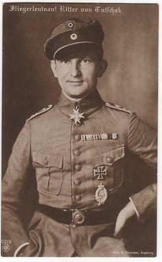 Hauptmann Adolf Ritter von Tutschek --- 27 victories. - Bio: http://www.theaerodrome.com/aces/germany/tutschek.php