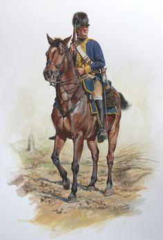 Trooper, Von Heer's Corps of Provost Light Dragoons