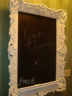From My Cherry Heart: Chalk Boards can be Elegant