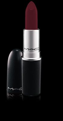 MAC Cosmetics: Lipstick in Hearts Aflame - FINALLY found a brownie burgundy that can be smudged out with a finger for that perfect stain. Perfect for redheads...can't wait to wear it with greys in the fall!