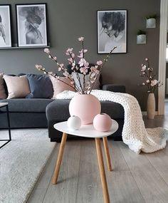 Is To Me - Skandinavisches Design, Haushaltswaren, Accessoires und mehr, Home Living Room, Living Room Designs, Living Room Decor, White Home Decor, Living Room Inspiration, Room Colors, Modern Decor, Interior Design, Interior Modern