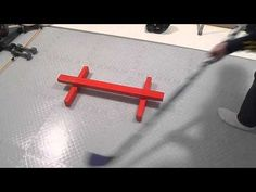 How To Make A Small Sweet Hands Hockey Training Aid