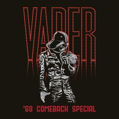 "My work - ""Vader 68 Comeback Special"""