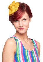 Hats, always hats. This one is bold, fun, vintage, and just a hint offbeat. Bon Matin Fascinator #chu #modcloth
