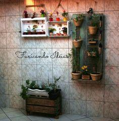 Mini horta da Patricia Gonçalves