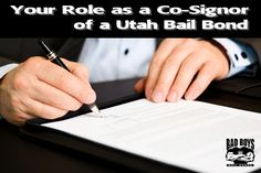 Everything you need to know about cosigning for #BailBonds -
