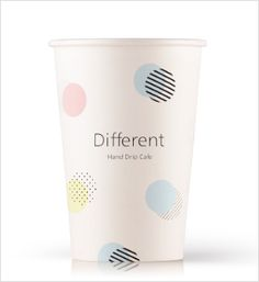 "PaperCup Design by Bizhows.com. You can see 3D rendering views and edit in ""SmileCanvas"" to order the papercup with your own design. Coffee Bar Home, Coffee Shop, Coffee Cups, Paper Cup Design, Cafe Cup, Cafe Branding, Coffee Cup Design, Logo Design, Graphic Design"